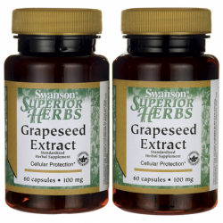 Grapeseed Extract Standardized, 100 mg 120 Caps