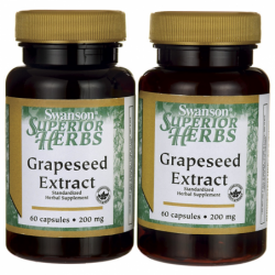 Grape Seed Extract Standardized, 200 mg 120 Caps