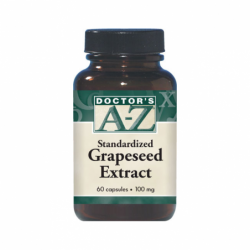 Standardized Grapeseed Extract, 100 mg 60 Caps