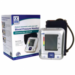 Blood Pressure Monitor  Deluxe Automatic with Arm Cuff, 1 Unit