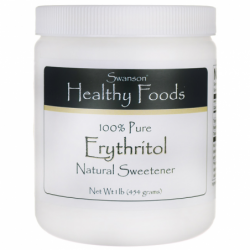 100 Pure Erythritol, 1 lb (454 grams) Pwdr