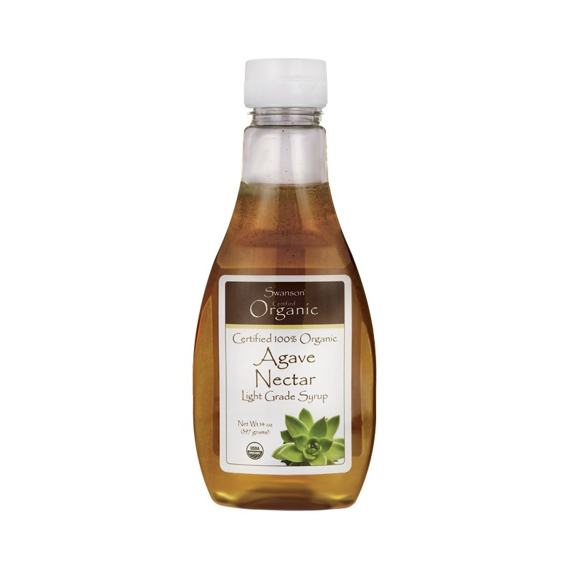 100 Certified Organic Agave Nectar, 14 oz (397 grams) Liquid