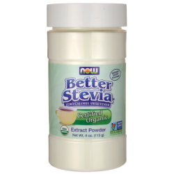 Certified Organic Better Stevia Extract Powder, 4 oz (113 grams) Pwdr