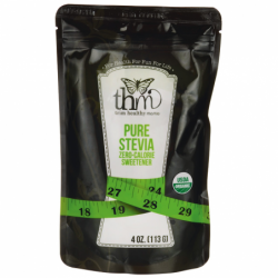 Pure Stevia, 4 oz (113 grams) Pkg