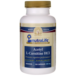 Acetyl LCarnitine HCl, 500 mg 120 Caps