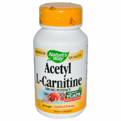 Acetyl LCarnitine, 500 mg 60 Vcaps