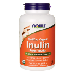 Certified Organic Inulin, 8 oz (227 grams) Pwdr