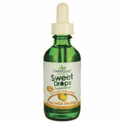 SweetLeaf Valencia Orange Liquid Stevia, 2 fl oz Liquid