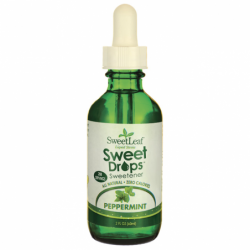 SweetLeaf Peppermint Liquid Stevia, 2 fl oz Liquid