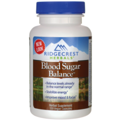 Blood Sugar Balance, 120 Vegan Caps