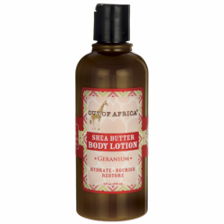 Shea Butter Body Lotion  Geranium, 9 fl oz (270 mL) Lotion