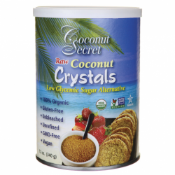 Raw Coconut Crystals, 12 oz Crystals