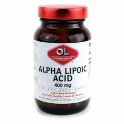 Alpha Lipoic Acid, 400 mg 60 Veg Caps