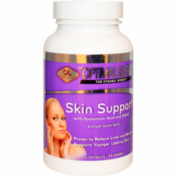 Skin Support with Hyaluronic Acid and DMAE, 40 Caps