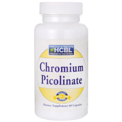 Chromium Picolinate, 200 mcg 60 Caps