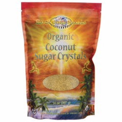 Organic Coconut Sugar Crystals, 14 oz Pkg
