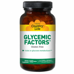 Glycemic Factors Vegetarian, 100 Tabs