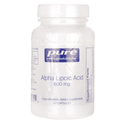 Alpha Lipoic Acid, 600 mg 60 Veg Caps