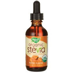 Organic Stevia  Toffee, 2 fl oz (59 ml) Liquid