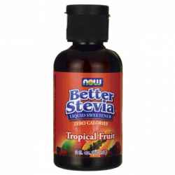 Better Stevia Liquid Sweetener  Tropical Fruit, 2 fl oz (60 mL) Liquid