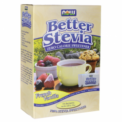 Better Stevia  French Vanilla, 75 Pkts