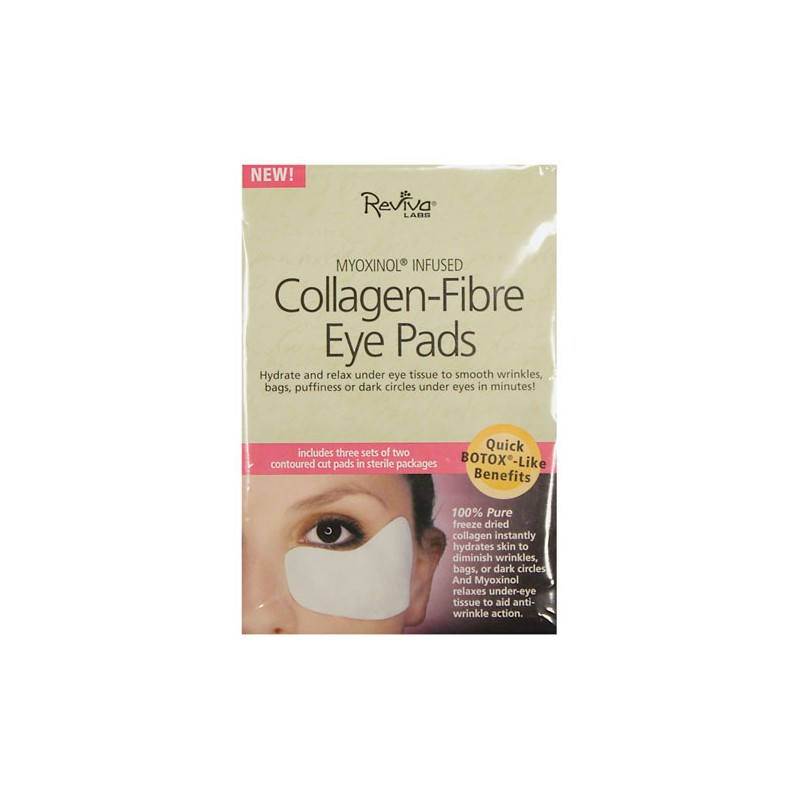 CollagenFibre Eye Pads, 6 Ct