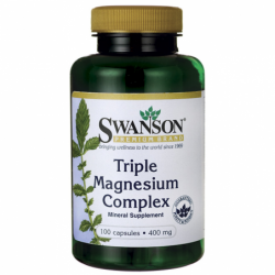 Triple Magnesium Complex, 400 mg 100 Caps
