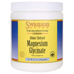 Albion Chelated Magnesium Glycinate, 5.3 oz (150 grams) Pwdr