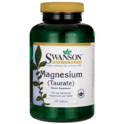 Magnesium Taurate, 100 mg 120 Tabs