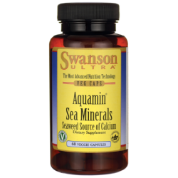 Aquamin Sea Minerals Red Mineral Algae, 60 Veg Caps
