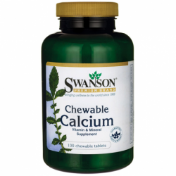 Chewable Calcium, 500 mg 100 Chwbls