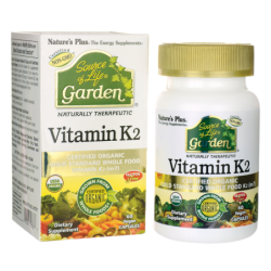 Source of Life Garden Vitamin K2, 60 Vegan Caps