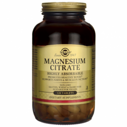 Magnesium Citrate, 120 Tabs