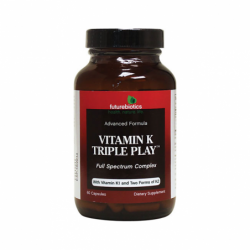 Vitamin K Triple Play, 60 Caps