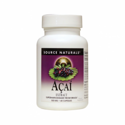 Acai Extract, 500 mg 60 Caps