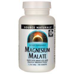 Magnesium Malate, 1,250 mg 90 Tabs