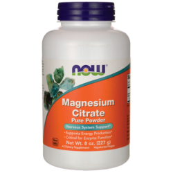 Magnesium Citrate Pure Powder, 8 oz (227 grams) Pwdr
