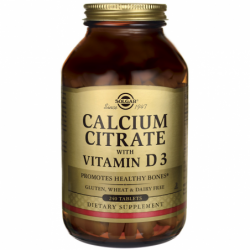 Calcium Citrate with Vitamin D3, 240 Tabs