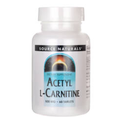 Acetyl LCarnitine, 500 mg 60 Tabs