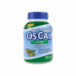 OsCal Ultra with Vitamin D3, 120 Cplts