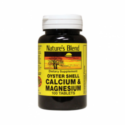 Oyster Shell Calcium & Magnesium, 100 Tabs