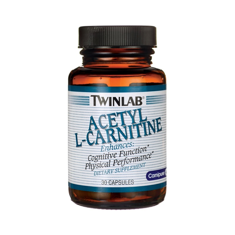 Acetyl LCarnitine, 500 mg 30 Caps