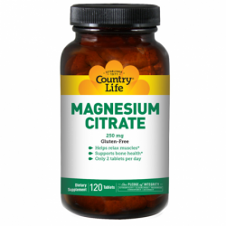 Magnesium Citrate, 250 mg 120 Tabs