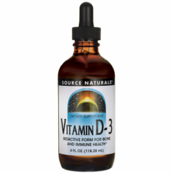 Vitamin D3, 4 fl oz Liquid