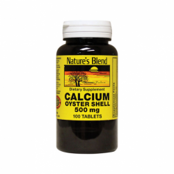 Oyster Shell Calcium, 500 mg 100 Tabs