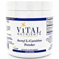 Acetyl LCarnitine Powder, 100 grams Pwdr