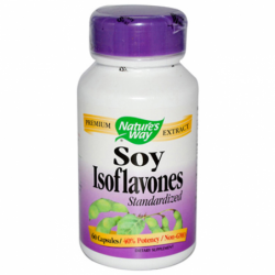 Soy Isoflavone Standardized, 60 Caps