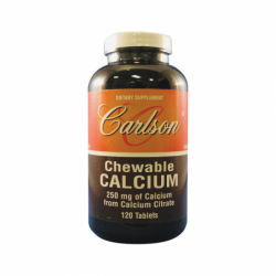 Chewable Calcium Citrate, 250 mg 120 Tabs