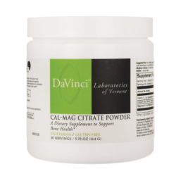 CalMag Citrate Powder, 4.9 oz (139.2 grams) Pwdr