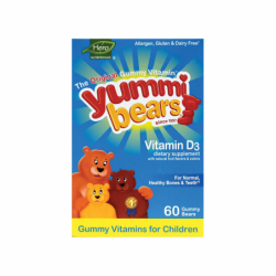Yummi Bears Vitamin D3, 60 Gummies
